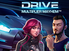 Игровой слот Drive: Multiplier Mayhem